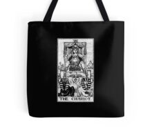 The Chariot Tarot Card - Major Arcana - fortune telling - occult Tote Bag
