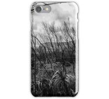 Burned forest iPhone Case/Skin