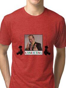 Laser Tag Tri-blend T-Shirt