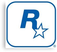 Rockstar Leeds Logo Canvas Print
