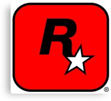 Rockstar Vancover logo  Canvas Print