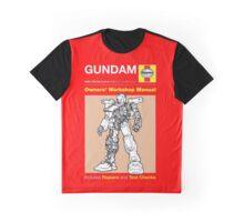 Haynes Manual - Gundam - T-shirt Graphic T-Shirt