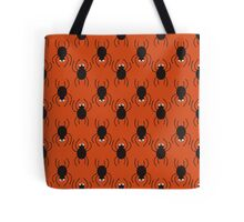 Halloween spiders pattern. Cute seamless background. Tote Bag