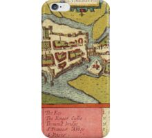 Limerick Vintage map.Geography Irland ,city view,building,political,Lithography,historical fashion,geo design,Cartography,Country,Science,history,urban iPhone Case/Skin