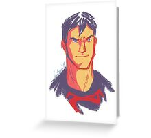 Superboy Greeting Card