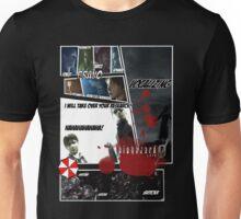 Resident Evil Zero Manga style Unisex T-Shirt