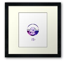 Pokemon Go - Pikachu Framed Print