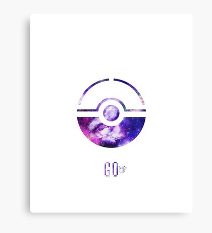 Pokemon Go - Pikachu Canvas Print