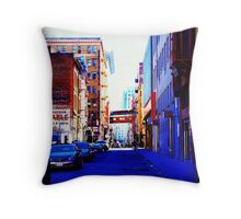 Lost In the City of San Francisco Throw Pillow