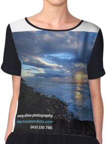 Sunrise Ballina with Photographers Details Chiffon Top