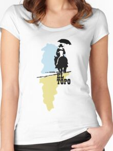 The mole - metaphysical western by Jodorowsky  (coloured) Women's Fitted Scoop T-Shirt
