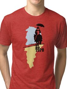 The mole - metaphysical western by Jodorowsky  (coloured) Tri-blend T-Shirt