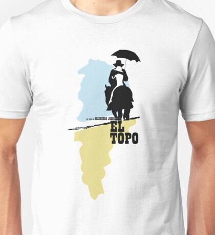 The mole - metaphysical western by Jodorowsky  (coloured) Unisex T-Shirt