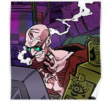 Cyberpunk Hacker Poster