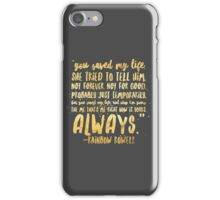 Eleanor and Park by Rainbow Rowell - Quote iPhone Case/Skin