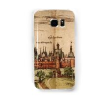 Lunenburg Vintage map.Geography Germany ,city view,building,political,Lithography,historical fashion,geo design,Cartography,Country,Science,history,urban Samsung Galaxy Case/Skin