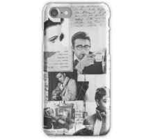 Creative Portrait Collage of 1950's Icons iPhone Case/Skin