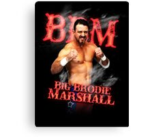 Branded Big Brodie Marshall 0 Canvas Print
