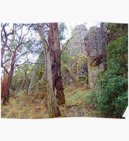 Hanging Rock, Macedon Ranges! Poster