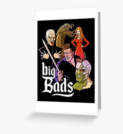 Big Bads Greeting Card