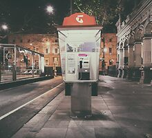 Telephone by jamespaullondon
