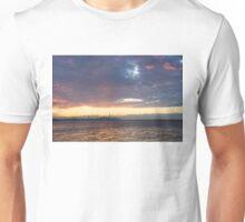 Just Before Sunrise - Toronto Skyline Silhouette Unisex T-Shirt
