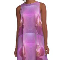 Pearly Orchid A-Line Dress