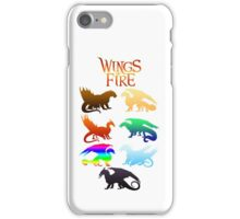 Wings of Fire Tribes iPhone Case/Skin
