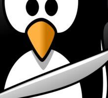 pirate penguin Sticker