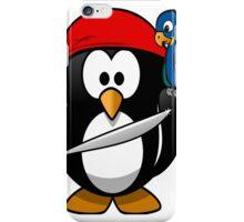 pirate penguin iPhone Case/Skin