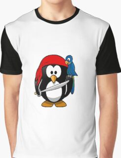 pirate penguin Graphic T-Shirt