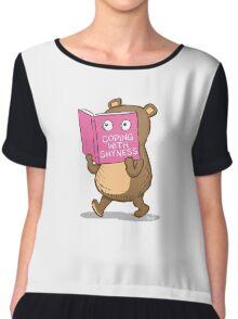 Shy Bear Chiffon Top
