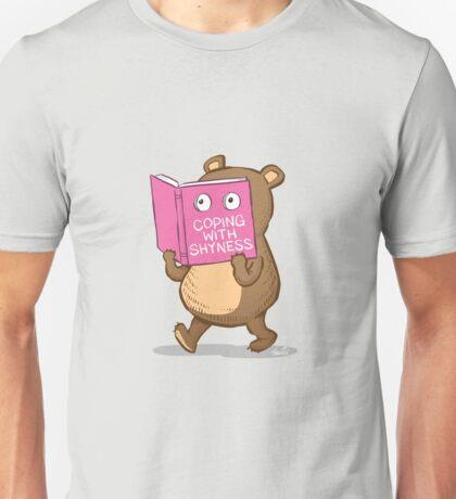 Shy Bear Unisex T-Shirt