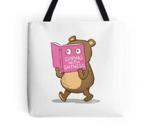 Shy Bear Tote Bag