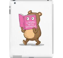 Shy Bear iPad Case/Skin