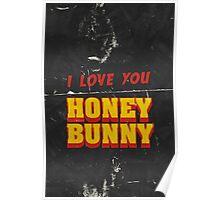 HONEY BUNNY Poster