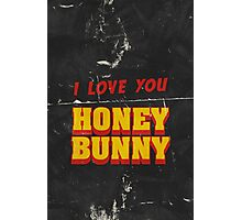 HONEY BUNNY Photographic Print