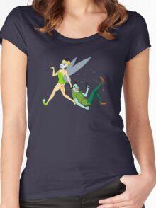 Tinker Bell Quinzel Women's Fitted Scoop T-Shirt