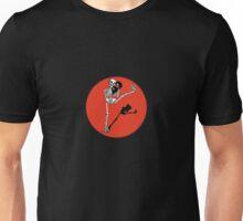 Skelett Kickboxer Unisex T-Shirt