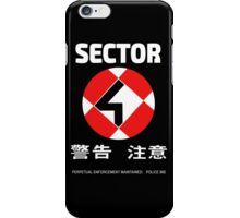 Sector 4 iPhone Case/Skin