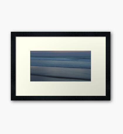 Infinite Silence Framed Print