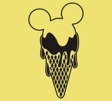 Mickey Ice Creams Baby Tee