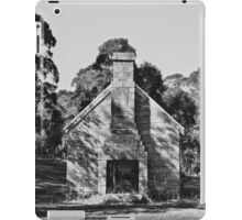 old hut iPad Case/Skin
