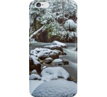 White on Green iPhone Case/Skin