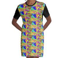 Mickeys Art And Design Graphic T-Shirt Dress