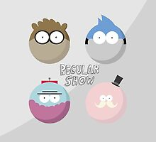 Regular Show (Design 1) by Liam Drage