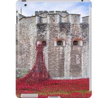 Poppies at The Tower Of London iPad Case/Skin