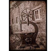 Dortmund, Vintage Machines Photographic Print