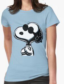 Joe Cool Womens Fitted T-Shirt