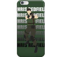 Chris Redfield  Resident Evil Remake version iPhone Case/Skin